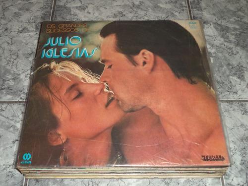 Lp Os Grandes Sucessos De Julio Iglesias - Hey