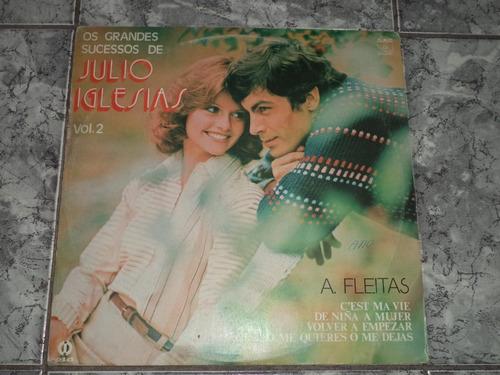 Lp Os Grandes Sucessos De Julio Iglesias - Vol.2
