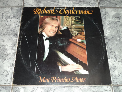 Lp Richard Clayderman - Meu Primeiro Amor
