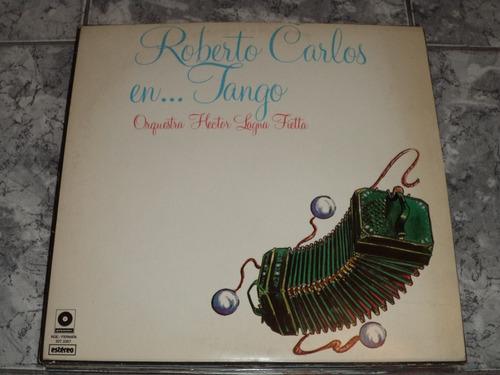 Lp Roberto Carlos En Tango