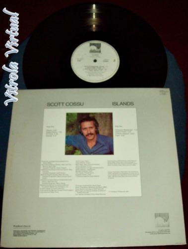 Lp Scott Cossu Islands 1987 Windham Hill Records