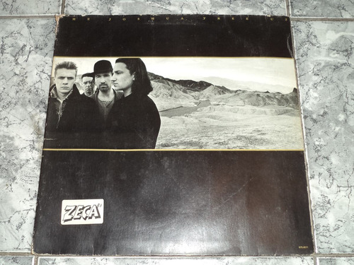 Lp - U2- The Joshua Tree ( Sem Encarte )