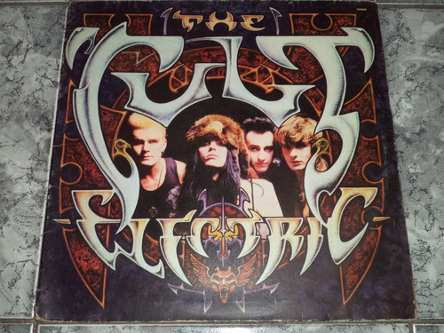 Lp Vinil The Cult (1987) Electric + Encarte
