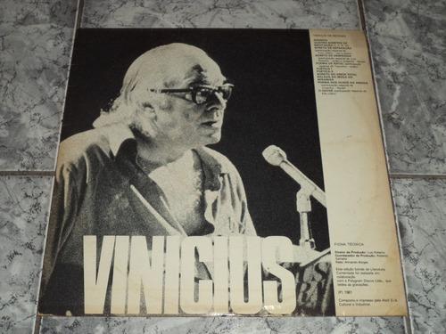 Lp Vinil - Vinicius E Drumond