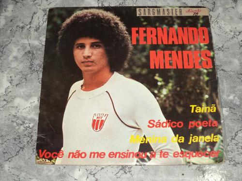 Lp/compacto Duplo - Fernando Mendes - Tainã