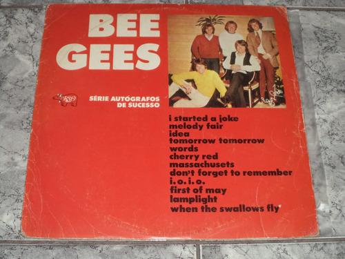 Lp/disco - Bee Gees - Serie Autógrafos