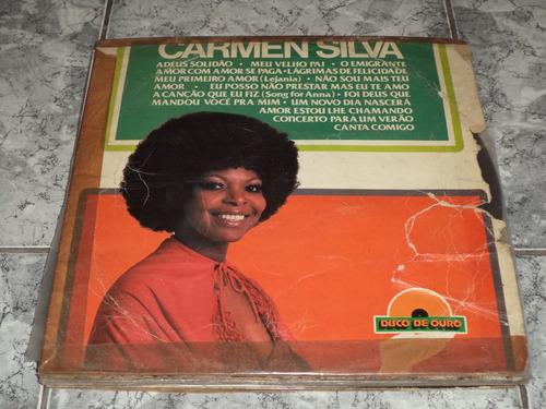 Lp/disco - Carmen Silva - Seleção De Ouro