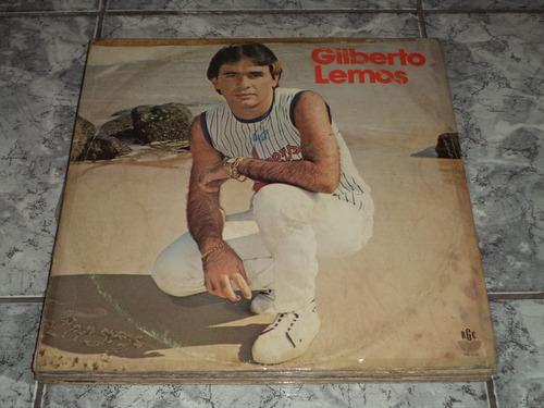 Lp/disco - Gilberto Lemos - Nem Te Esquecer Eu Sei