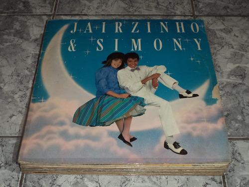 Lp/disco - Jairzinho E Simony