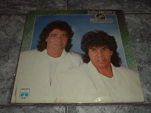 Lp/disco - João Mineiro E Marciano - Ja Fui Amando