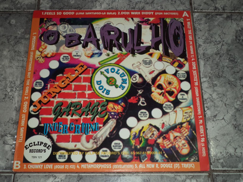 Lp/disco - O Barulho Vol. 2 ( House/dance 90s )