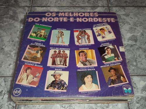 Lp/disco - Os Melhores Do Norte E Nordeste