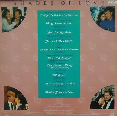 Lp/disco Rom/var - Shades Of Love 1987