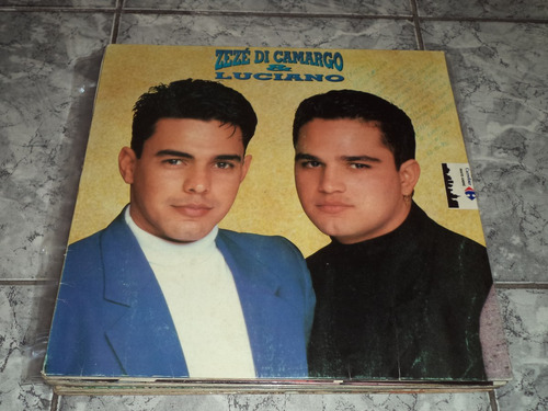 Lp/disco - Zezé Di Camargo E Luc. -saudade Bandida + Encarte