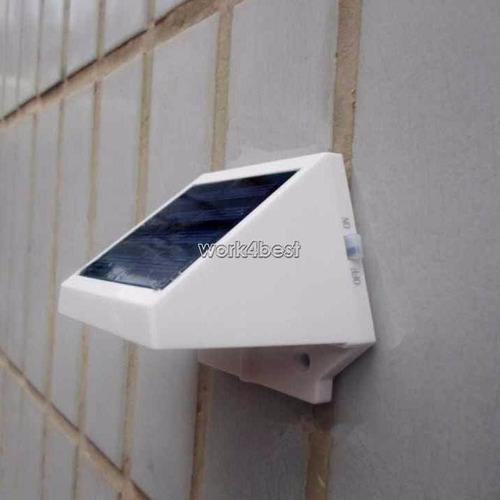 Luminária Painel De Energia Solar 4 Led, Jardim, Parede, Etc  R$ 59