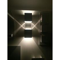Kit 5 Arandela De Efeito Luminoso Incrível,externa Interna.