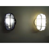 30x Kit Luminária Arandela Tipo Tartaruga + Lâmpada Led 9w