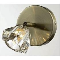 Arandela Cristal - Lustre Sala - Luminária Quarto Parede