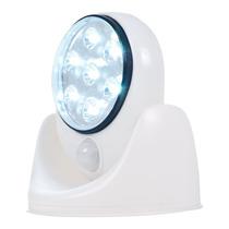 Kit Com 10 Luminarias De Led Com Sensor De Presença