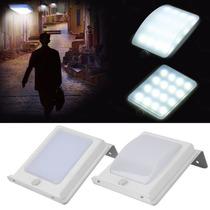 Luminária Solar Para Áreas Externas Com Sensor De Movimento.