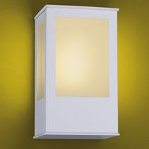 Arandela Ideal 286 P/ Area Externa E Int. E27 Bivolt- Branca