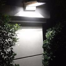 Lâmpada Solar Externa Sensor Movimento P/ Corredor Lateral