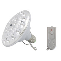 Lâmpada 22 Led Recarregável Luminaria Emergência C/ Controle