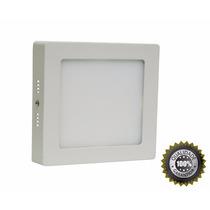 Luminaria Plafon Quadrado Sobrepor 17x17 Led 12w Classe A