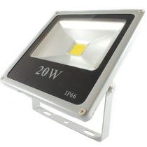 Refletor De Led - Holofote Branco Frio 20w - Bivolt