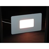 Luminária Balizador Led Embutir Parede Escada Caixa 4x2
