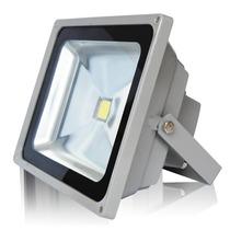 Refletor De Led 50w Branco Frio Bivolt Prova D´água Ip65