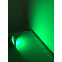 Refletor De Led - 10w Verde - Bivolt 127v/220v