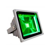 Refletor Holofote Led 30w Verde Prova D´água Pronta Entrega!