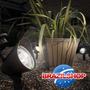 Luminária Solar De 4 Leds A Maior Modelo Novo P/ Seu Jardim