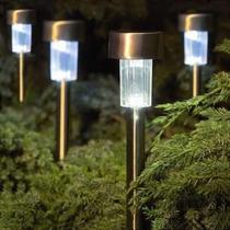 Luz Solar De Jardim Lampadas Led