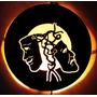 Luminaria Disco De Vinil - Lps - Mascaras De Teatro -cenicas