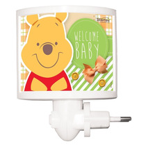 Mini Abajur Led Pooh Baby Disney Original Startec