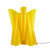 Abajur Luminária Chaos Amarela - Avelis