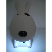 Abajur Luminaria 16 Led Cachorro Recarregavel Love Dog