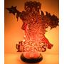 Luminaria League Of Legends - Em Canos De Pvc, Da Arteroide