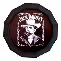 Luminoso De Parede Decorativo Jack Daniels Decoração De Bar