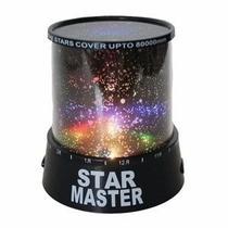 Star Master Luminária Abajur Projetor De Estrelas Na Caixa
