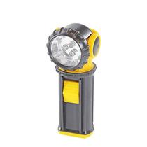 Lanterna 3 Led Bivolt Clips Cabeça Articulada A Pilha