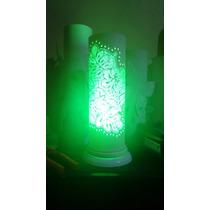 Luminária De Cano Pvc Floral