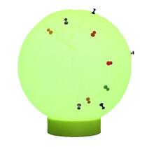 Luminária Globo Push Pin Verde-promoção