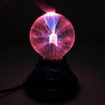 Luminária Globo De Plasma 14 Cm 110 V