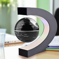 Globo Terrestre Magnético Flutuante Luminária Levitadora