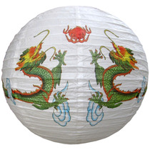 Luminária Japonesa Dragão Chinesa Oriental Lanterna Hachi8