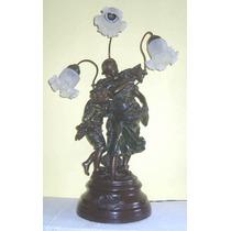 Luminaria Pescadora De Petit Bronze ( Cod 58 )
