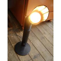 Luminária De Mesa Dobrável 1 Bocal Funcionando 67 Cm